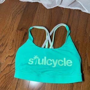 Lululemon Soul Cycle Energy Bra